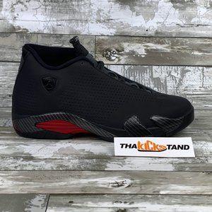 2019 Nike Air Jordan 14 XIV Retro Black Ferrari